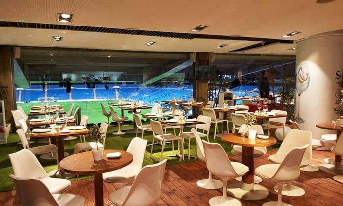 desayuno ¿qué es un Concurso Express? en el Real café Santiago Bernabéu